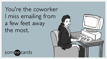 As I wrap-up my internship Your Ecards Work Thursday